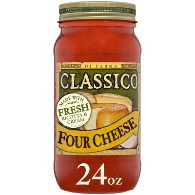 Classico Four Cheese Pasta Sauce 24oz