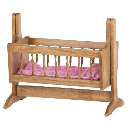 Remley Katie's Collection Kids Wooden Doll Swinging Cradle - Ships Assembled - image 1 of 4