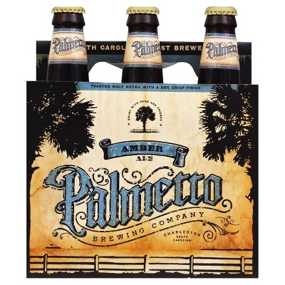 Palmetto Amber Ale Beer - 6pk/12 fl oz Cans