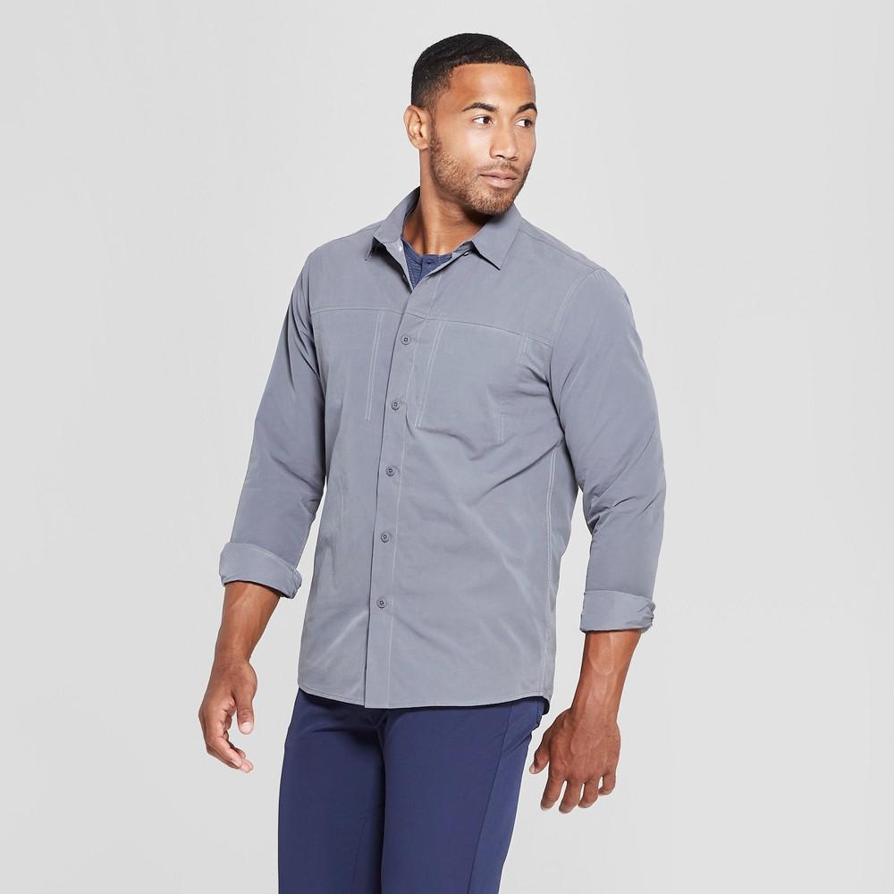 Image of MPG Sport Men's Woven Shirt - Smoke Grey M, Size: Medium, Grey Grey