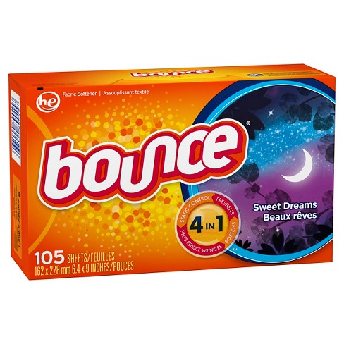 Bounce Sweet Dreams Fabric Softener Dryer Sheets 105 ct - image 1 of 2