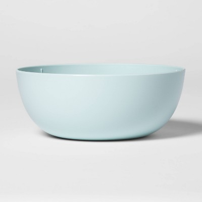 37oz Plastic Cereal Bowl Aqua - Room Essentials™