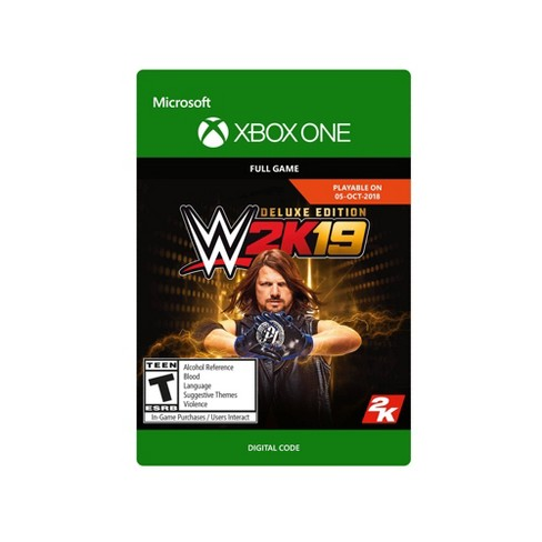 WWE 2K19: Deluxe Edition - Xbox One (Digital) - image 1 of 12