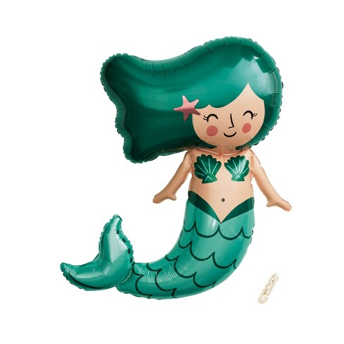45 Mermaid Foil Balloon