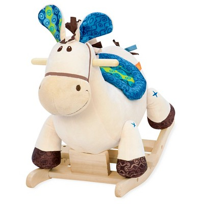 B. toys Wooden Rocking Horse Rodeo Rockers - Banjo