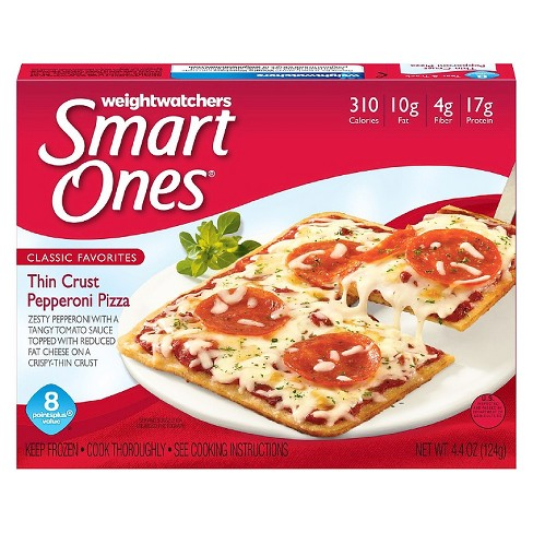 Smart Ones Thin Crust Pepperoni Frozen Pizza - 4.4oz - image 1 of 1