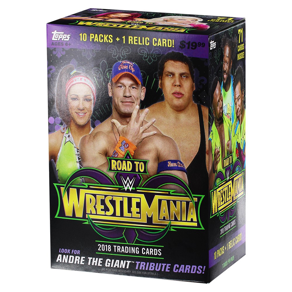 Wwe Road to WrestleMania Trading Cards Full Box