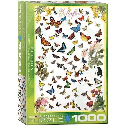 Eurographics Inc. Butterflies 1000 Piece Jigsaw Puzzle - image 1 of 4