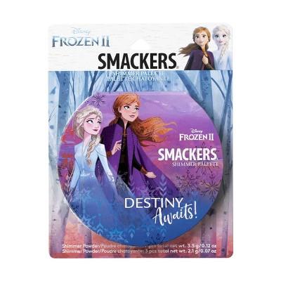 Lip Smacker Frozen 2 Shimmer Makeup Palette Set - 0.19oz