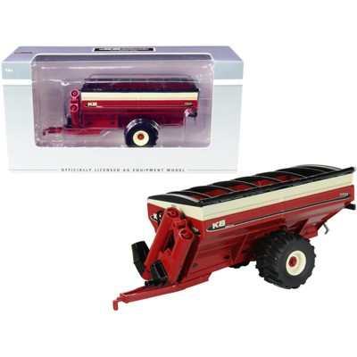 KB Killbros 1111 Grain Cart with Flotation Tires Red 1/64 Diecast Model by SpecCast