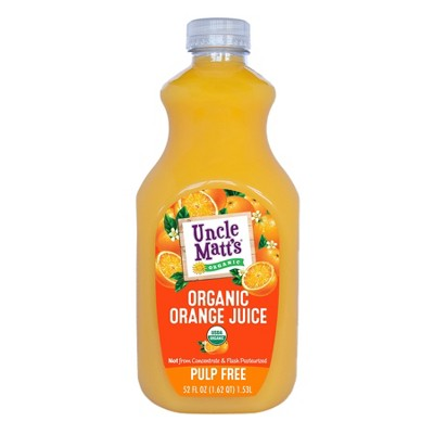 Uncle Matt's Organic Pulp Free Orange Juice - 52 fl oz