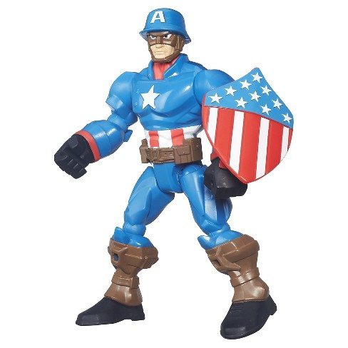 Marvel Super Hero Mashers Captain America Action Figure - image 1 of 2