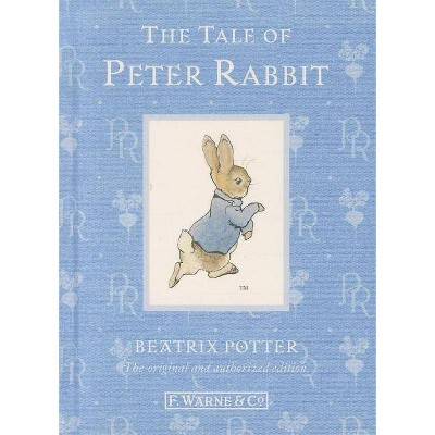 The Tale of Peter Rabbit - (Original Peter Rabbit Books) 110th Edition by  Beatrix Potter (Hardcover)