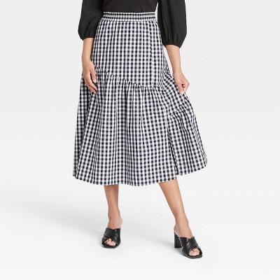 Women's Ruffle Midi Skirt - Who What Wear™
