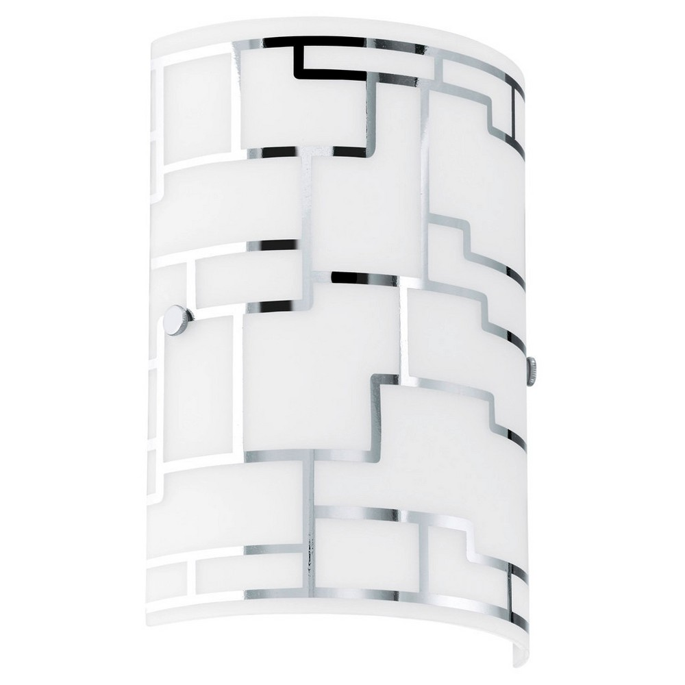 "Image of ""Bayman Ceiling Light 7"""" Diameter Chrome - Eglo"""