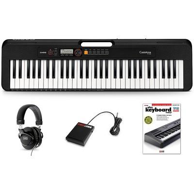 Casio Casiotone CT-S200 Keyboard Essentials Kit Black