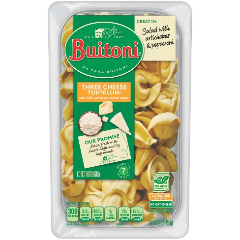 Buitoni All Natural Three Cheese Tortellini - 9oz - image 1 of 4