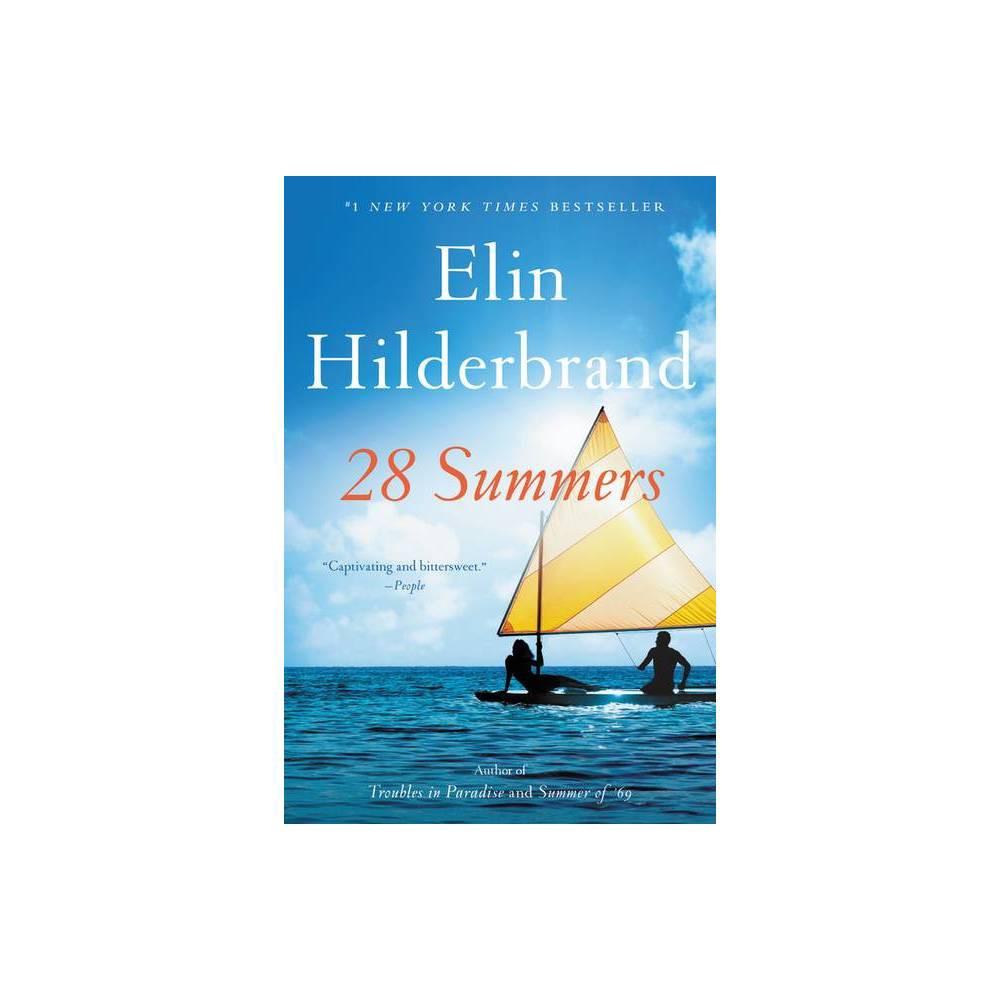 28 Summers By Elin Hilderbrand Paperback