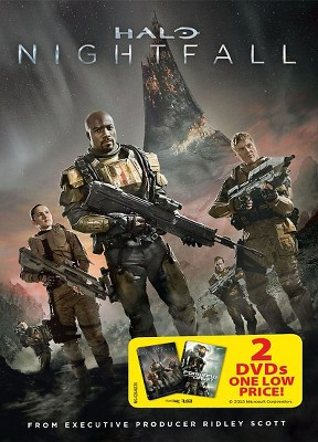 Halo 4 Forward Unto Dawn Halo Nightfall Dvd Target