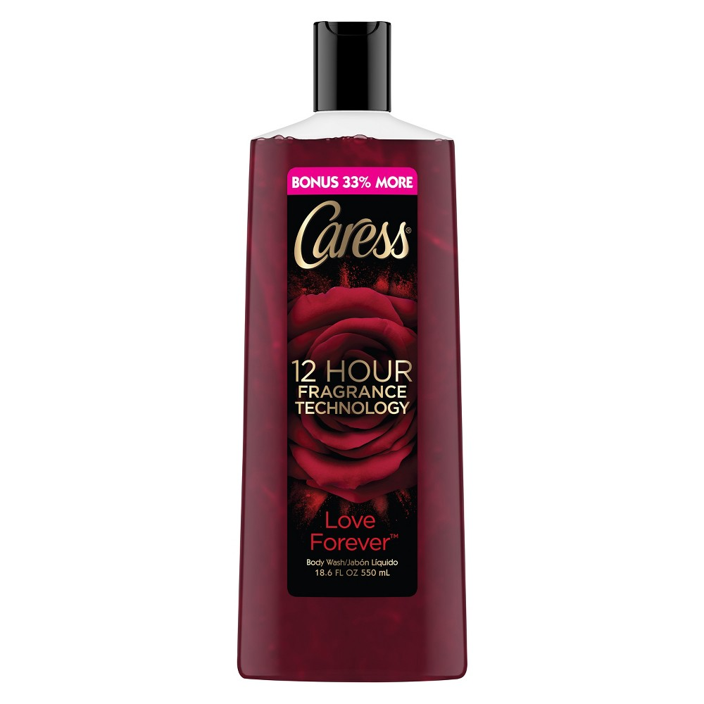 Image of Caress Love Forever Body Wash - 13.5oz