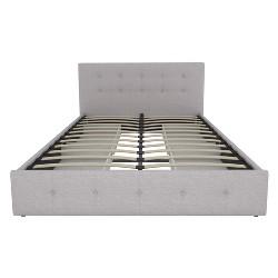 Rosalie Upholstered Bed with Storage - Room & Joy