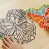 Melissa & Doug Stained Glass Made Easy Activity Kit: Butterfly - 140+ Stickers - image 2 of 4
