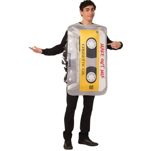 Adult Mix Tape Halloween Costume One Size - image 1 of 4