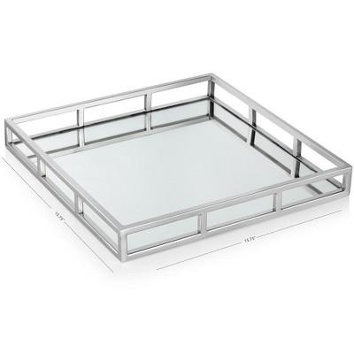 Home Decor Mirror Tray Target, Silver Mirror Tray Rectangle