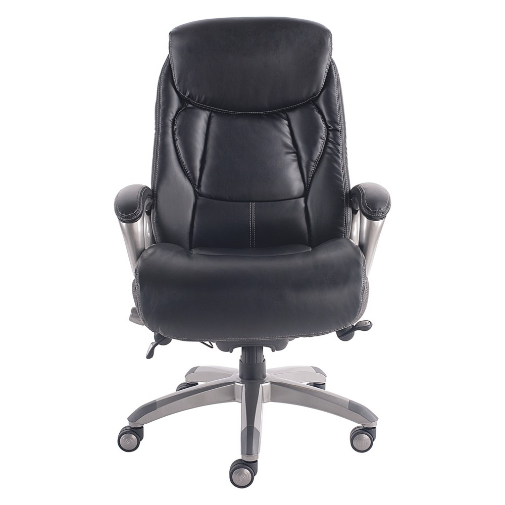 Works Executive Office Chair with Smart Layers Technology Opportunity Gray - Serta, Black