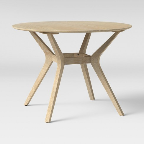 afc4104731f9d 42 Emmond Mid Century Dining Table Round Natural Project 62 Target