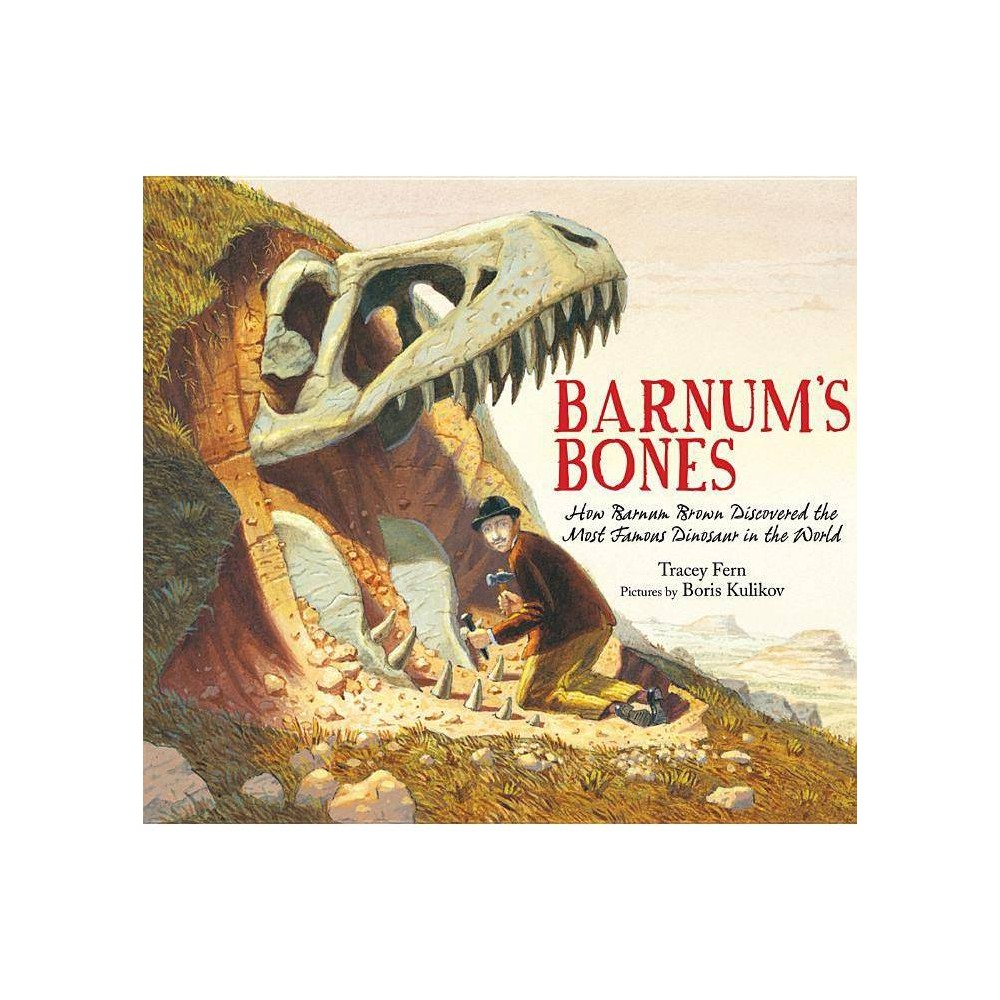 Barnum S Bones By Tracey Fern Hardcover