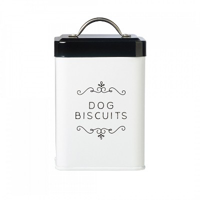 Amici Pet Sparky Metal Canister, Dog Biscuits, 36oz