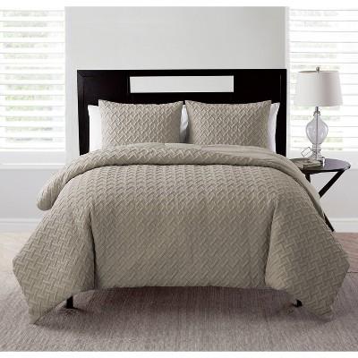 Nina Ii Embossed Comforter Set - VCNY Home