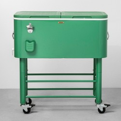 77qt Centennial Rolling Cooler Green - Hearth & Hand™ with Magnolia