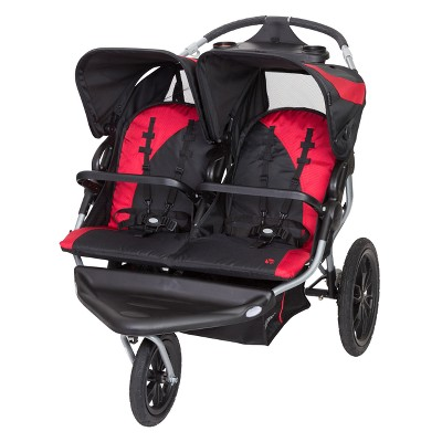 Baby Trend Navigator Lite Double Jogger Stroller - Candy Apple