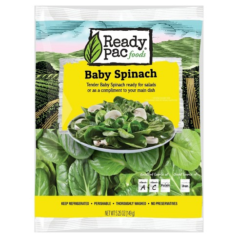 Ready Pac Foods Baby Spinach - 5.25oz - image 1 of 1