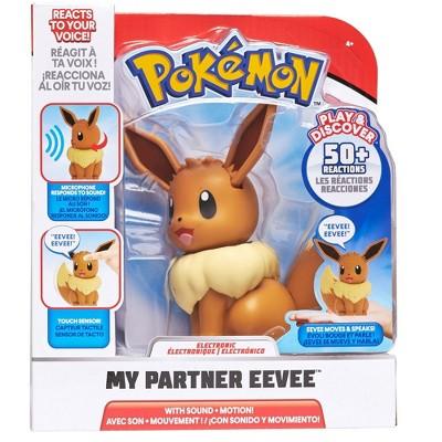 Pokemon - Deluxe Feature Figure (My Partner Eevee)