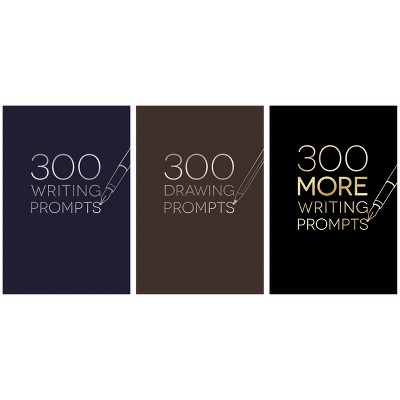 Piccadilly 300 Prompts Journal - Designs Vary