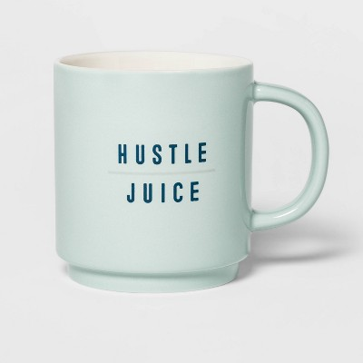 16oz Stoneware Hustle Juice Mug Sage Green - Threshold™