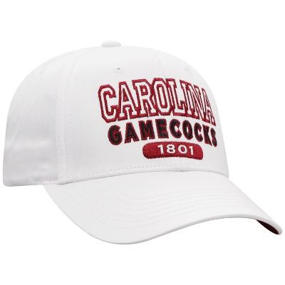 NCAA South Carolina Gamecocks Men's White Twill Structured Snapback Hat