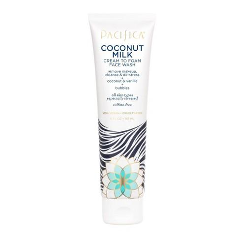 Pacifica Coconut Milk Cream to Foam Face Wash - 5 fl oz - image 1 of 3