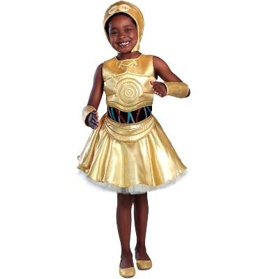 Star Wars C-3PO Dress Child Costume