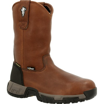 Men's MICHELIN® HydroEdge Internal Metatarsal Alloy Toe Waterproof Pull On Work Boot