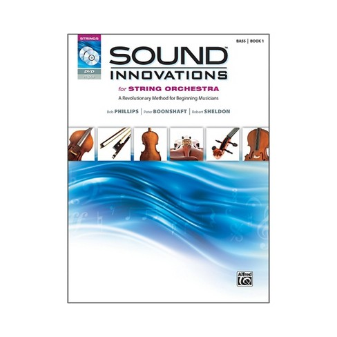Alfred Sound Innovations for String Orchestra Book 1 Bass Book CD/ DVD - image 1 of 1