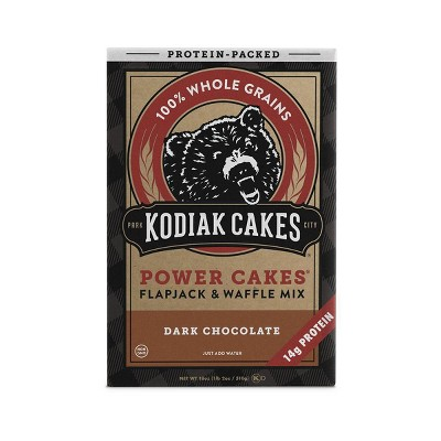 Kodiak Cakes Protein Packed Dark Chocolate Flapjack & Waffle Mix - 18oz