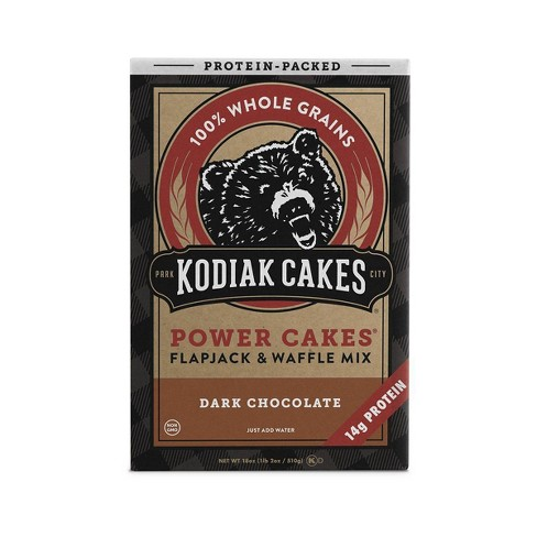 Kodiak Cakes Protein Packed Dark Chocolate Flapjack & Waffle Mix - 18oz - image 1 of 4