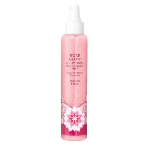 Pacifica Rose Glow Shimmering Women's Hair And Body Mist - 5 fl oz - image 1 of 2