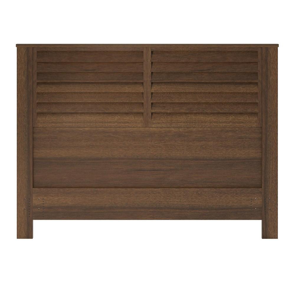 Granite Hill Queen Headboard Walnut (Brown) - Room & Joy