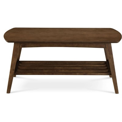 Gaines Coffee Table Brown - ClickDecor