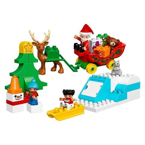 dd9e475e2f1 LEGO® DUPLO® Town Santa s Winter Holiday 10837   Target